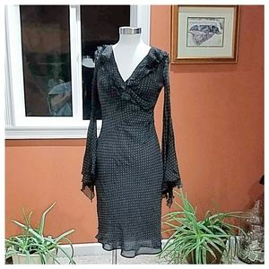 Express Dresses - Express extreme bell sleeved dress